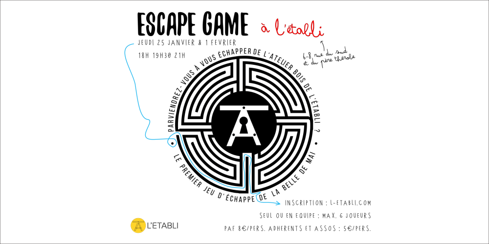 Escape Affiche Eventbrite
